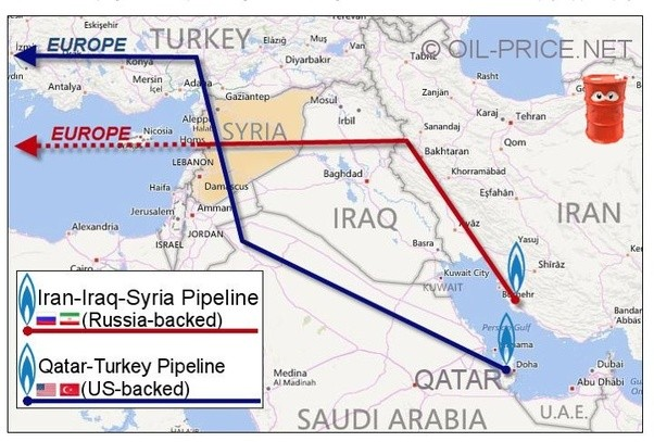 to be in a cross path of major natural gas pipeline hard to believe but it is true and we will examine facts below but first lets look at this map