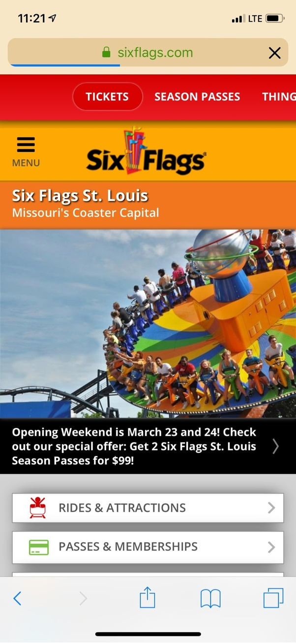 When does Six Flags St Louis open? - Quora