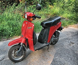 Which 2-wheeler has the smallest engine (less than 100cc