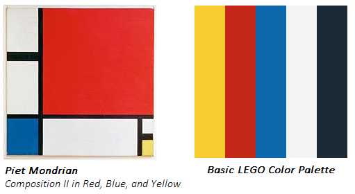 Technically LEGO Also Had A Few Other Colors Like Gray And Green But They Werent Used As Often