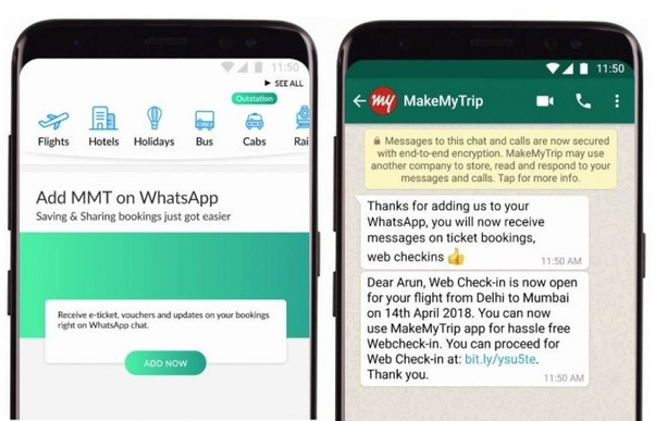 What is the best way to get access to a WhatsApp business