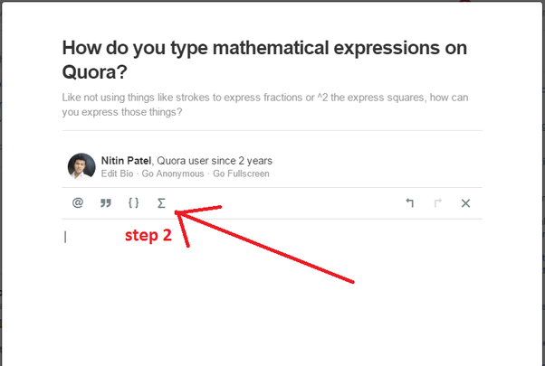How To Use Latex Mathematical Notation For Formulae On Quora Quora