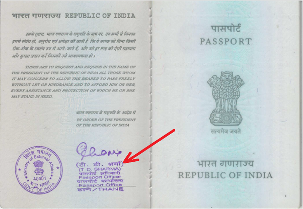What is issuing authority in a passport? What should I write
