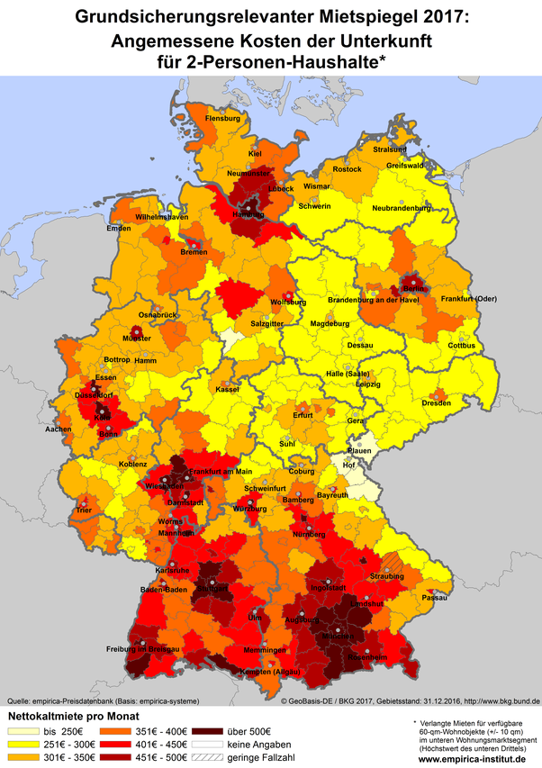 What is the cheapest city in Germany to live in? - Quora