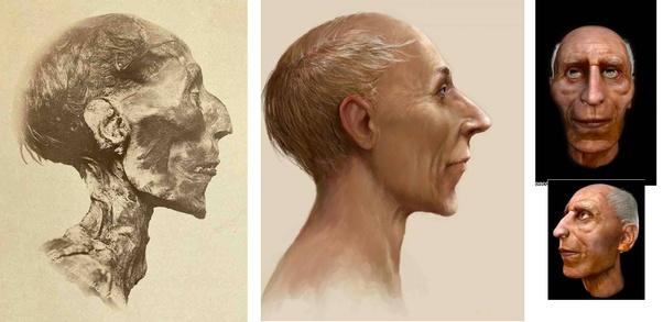 Ramses ii facial reconstruction
