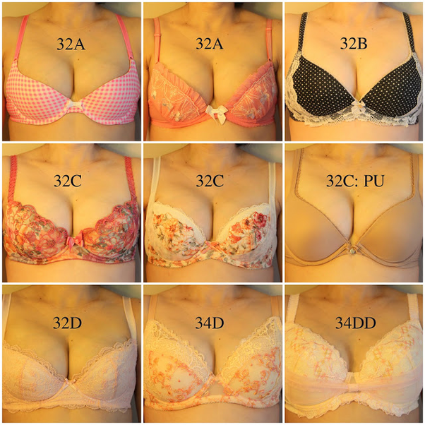 Boobs Growth Diary #7: Wardrobe Cleaning After a Natural Breast Growth from  32A to 34DD(ish)!
