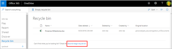 How to recover my data from my OneDrive account, which seems to have
