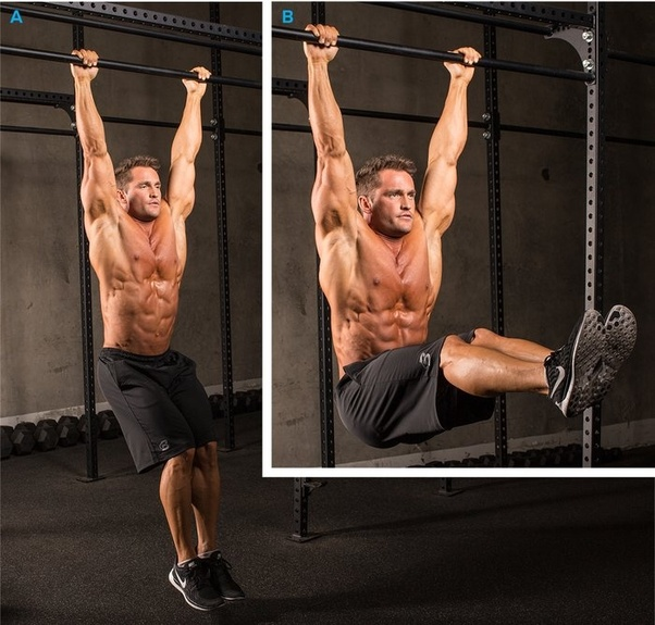 No Matter The Variation Get Your Legs As High Possible On Each Rep Without Using Momentum To Swing Them Up Hanging Leg Raise