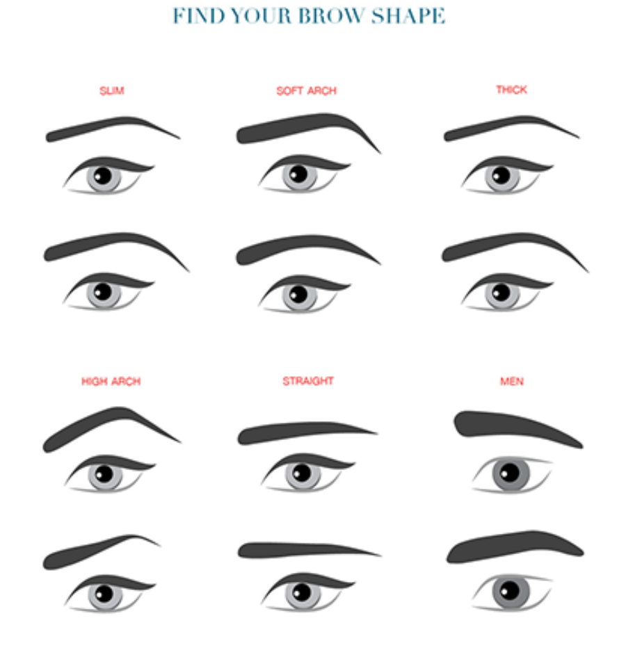 How To Make My Eyebrows Straight If They Are Naturally Arched Quora