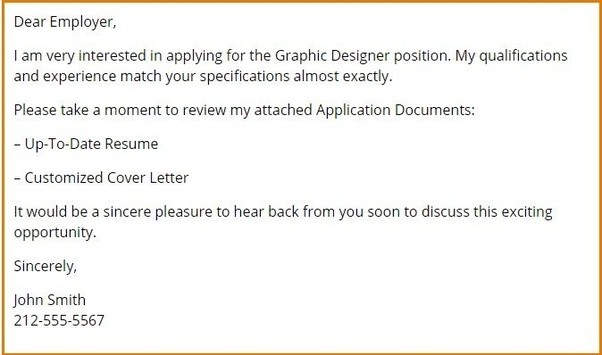 Here Is A Good Example:  Email Resume Examples