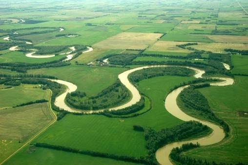why meanders are formed at young stages of the river