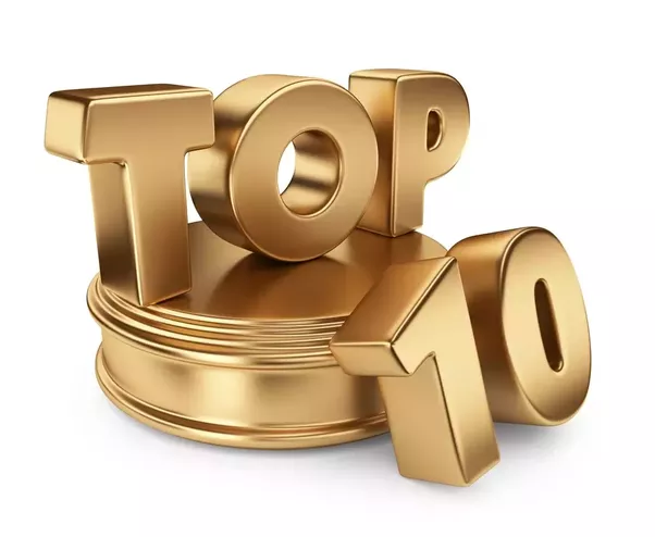 what are the top 10