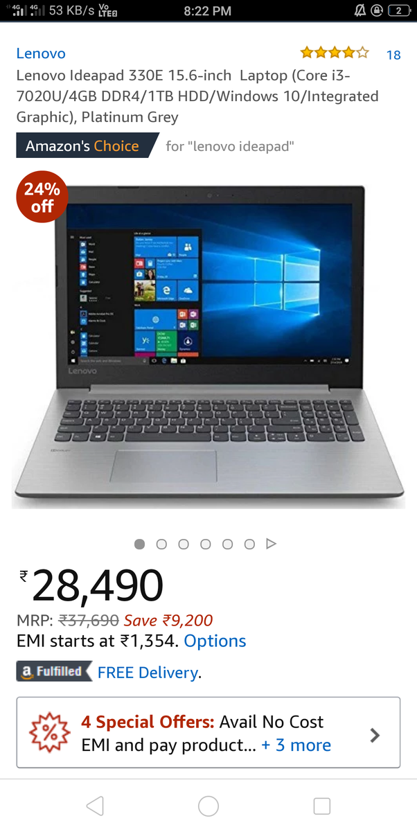 What are best laptops under 25,000 Rs  (2018)? - Quora