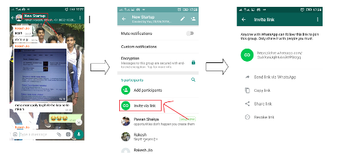 How to share WhatsApp group link - Quora