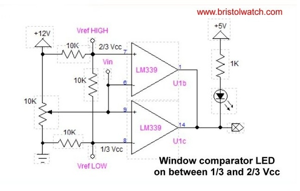 What is an op-amp window comparator? - Quora