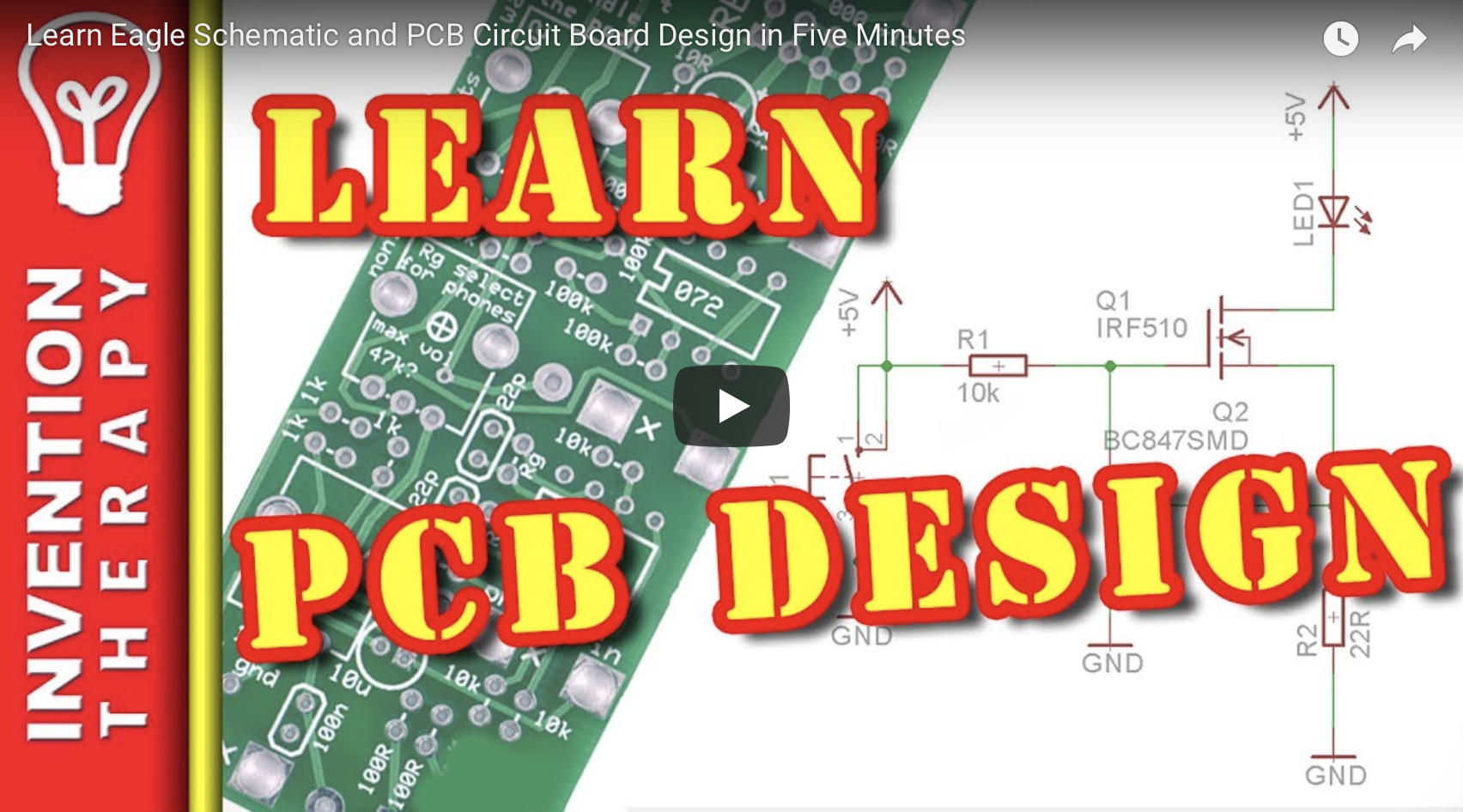 How To Use Auto Router On Eagle Pcb Design Quora Car Wiring Schematic Youtube Click The Link Here Watch This Answer Video