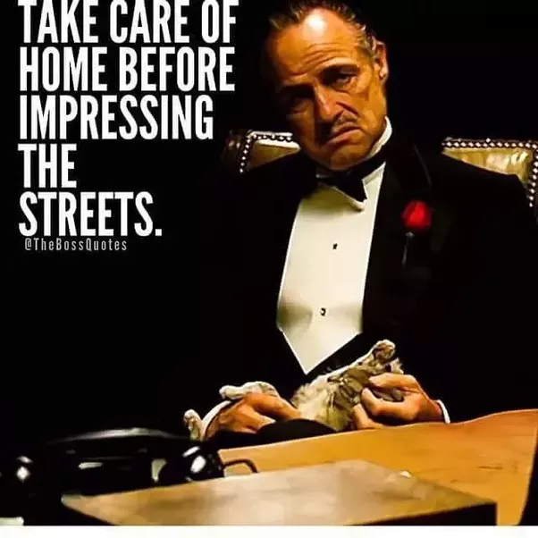 The Godfather Quotes About Family: In The Godfather, Why Does Michael Turn To Evil? Why Does