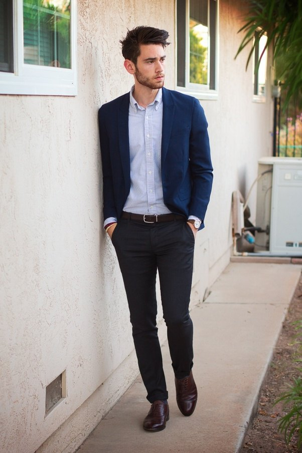 Should I Wear A White Shirt With Brown Pants And Black Formal Shoes For My Facilitation? - Quora