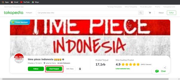 Marketplace Tokopedia