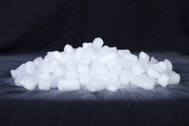Image result for example of sublimation solid to gas