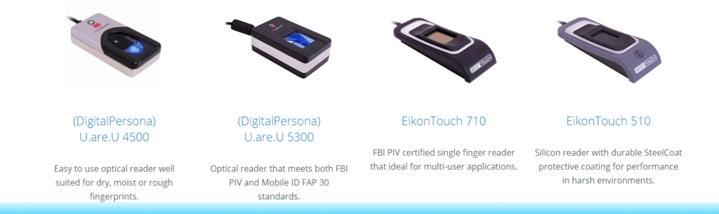 How to connect a biometric fingerprint scanner with any application