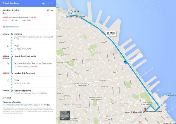 What is the closest BART station to Pier 39 Quora