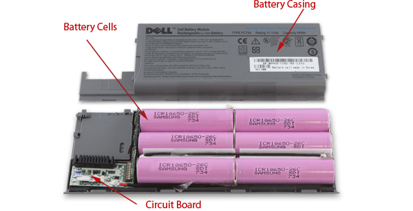 How To Use An Old Mobile Laptop Battery As A Power Bank