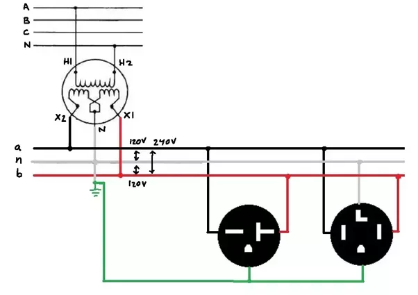 what does 230 volt single phase refer to? - quora 120 240 single phase wiring diagram 240 vac single phase wiring #10