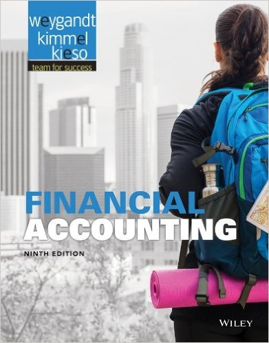 financial accounting weygandt solution manual