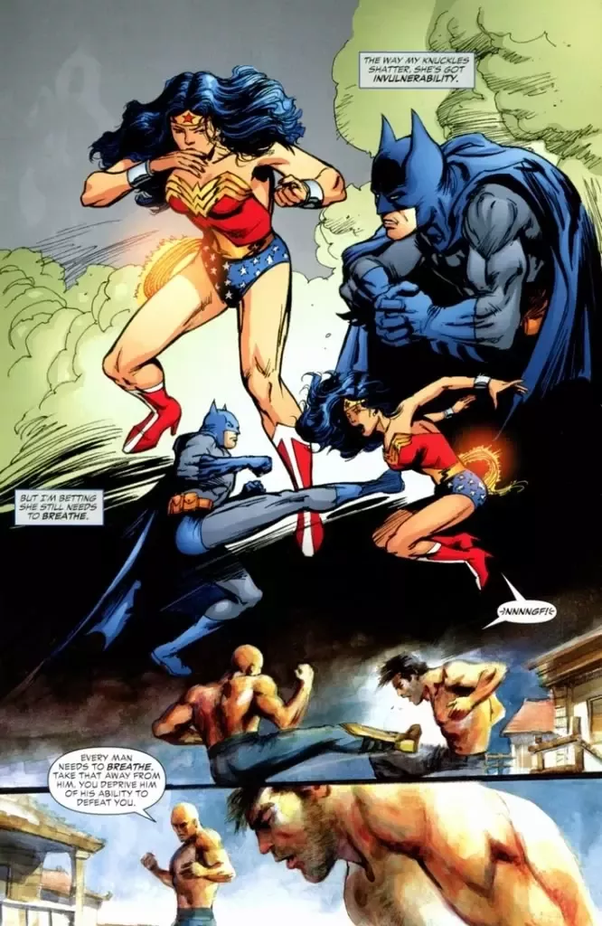 Who Would Win In A Fight Between Wonder Woman And Batman - Quora-7114
