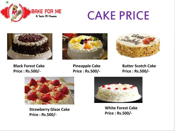 Red Ribbon Fondant Cake Price