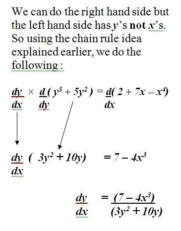 How To Do Implicit Differentiation In Calculus Quora