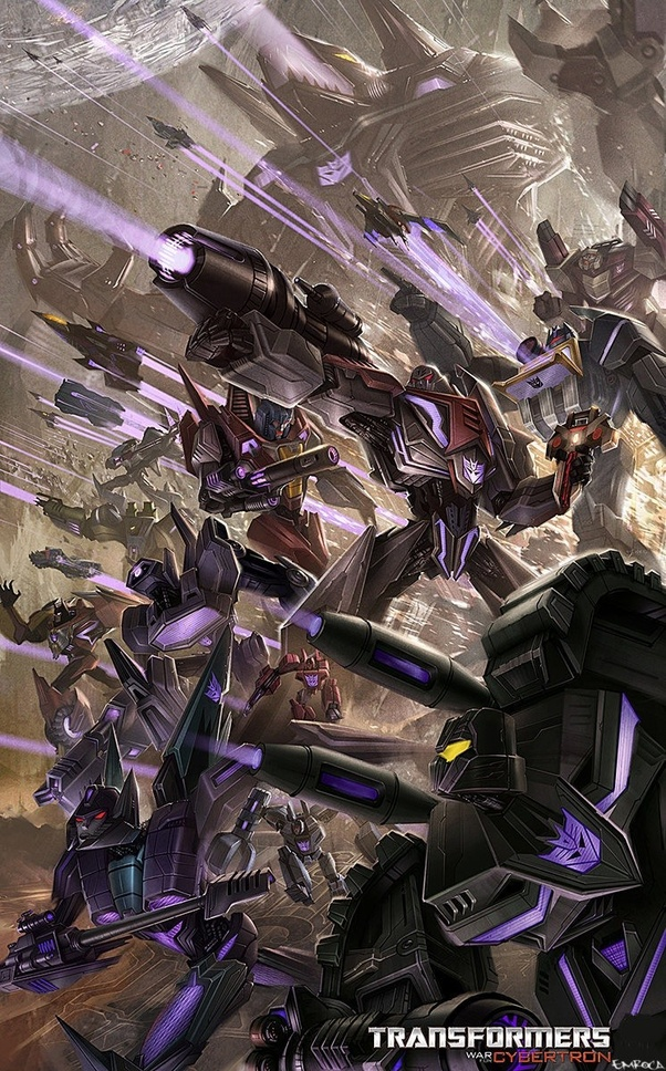 If Shockwave, Soundwave and Starscream ganged up on Megatron, would