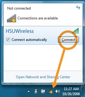 Win 7 wireless no connections available