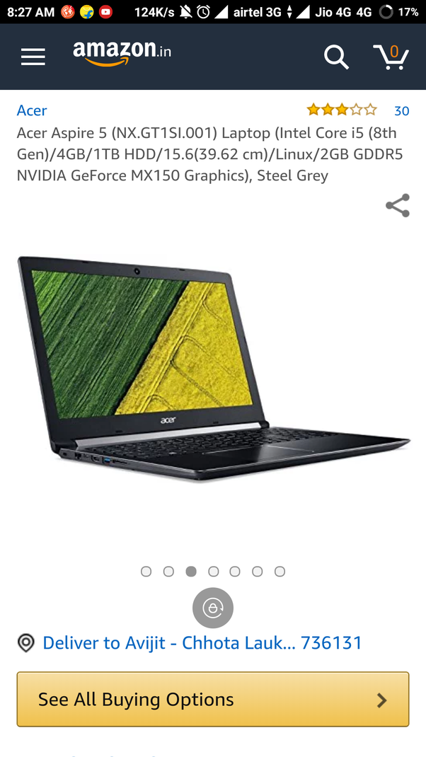 Is there any MX150 budget laptop? - Quora