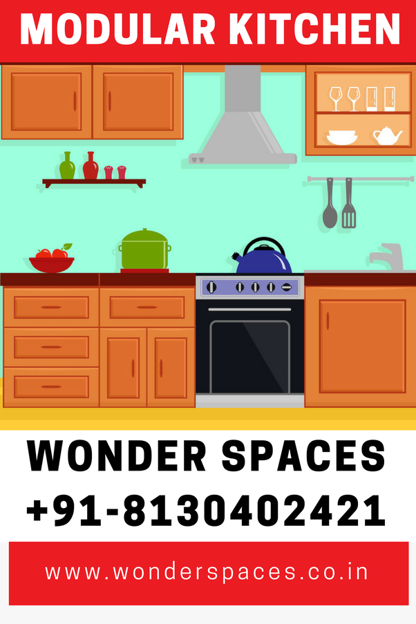 How much does a decent modular kitchen cost? - Quora
