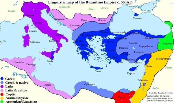 Was the Byzantine population Greek in majority? - Quora