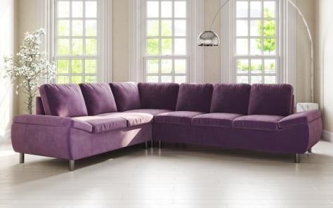 How Do Corner Sofas For Modern Living Room Furniture Sets Get