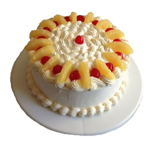 Eggless Pineapple Cake Recipe With Icing