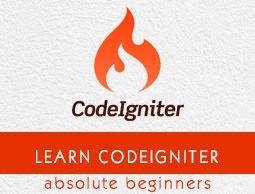 php codeigniter framework tutorial for beginners pdf