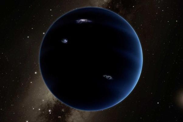 Image result for planet nine vs neptune