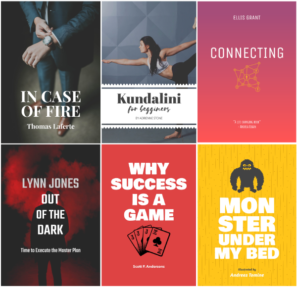 Where can i find simple ebook templates that i can just drop text the following book covers have been created are an example of what can be achieved with this awesome online tool maxwellsz