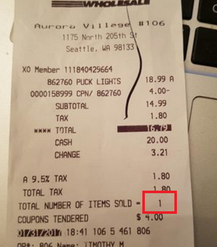 what do the costco receipt checkers actually look for in your cart