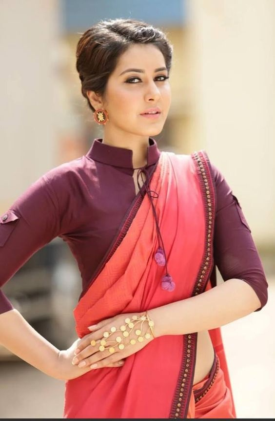 Stand Color Blouse Designs : Which is the best blouse design for cotton saree quora