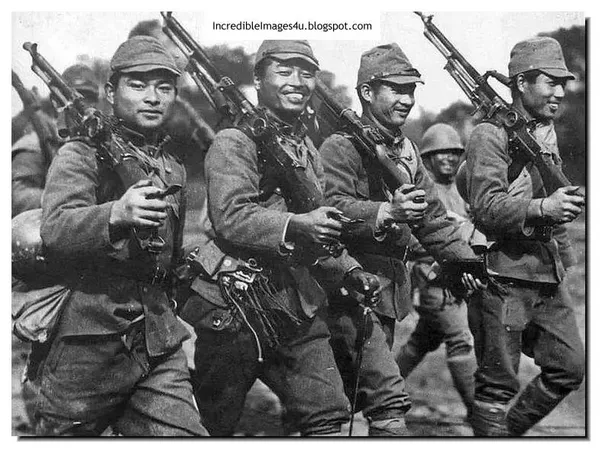 Asians in army wwii