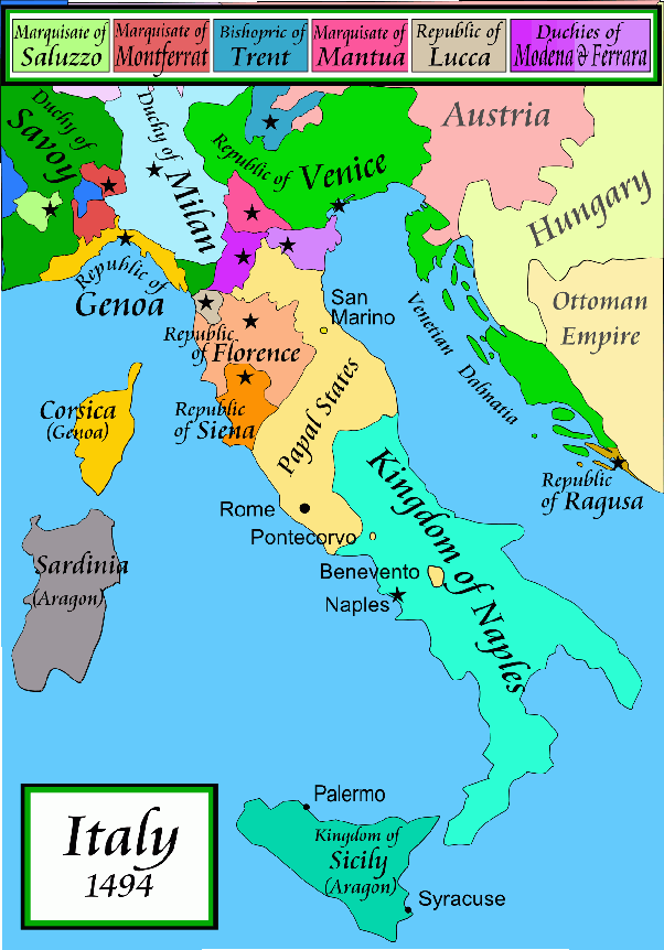 Modern Map Of Italy.Why Didn T The Mighty Ottoman Empire Dare To Invade The Tiny Italian