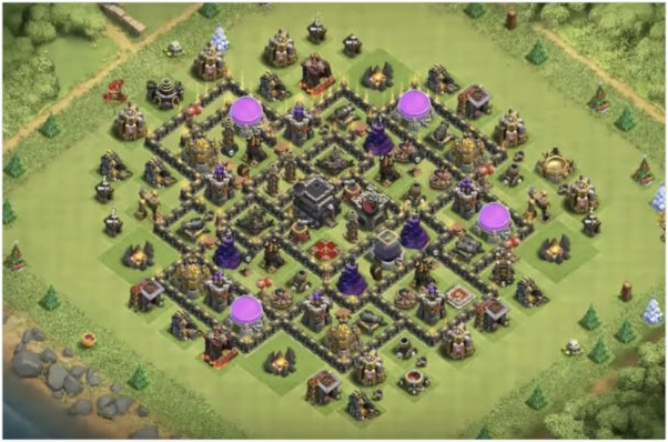 which is the best town hall 9 base in 2018 quora