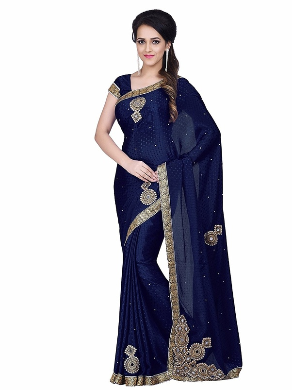 4d9e68227b6f53 Seen By More Lates Blouse designs and Latest Saree Designs
