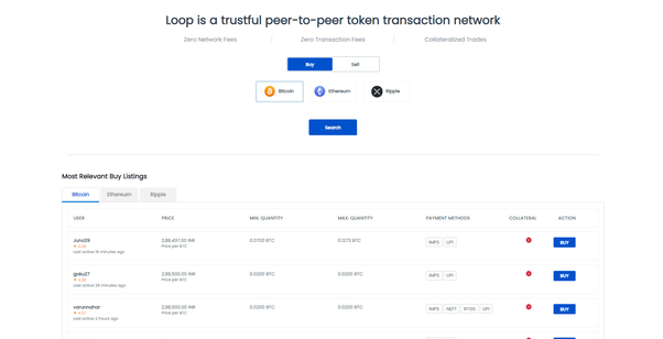 How to deposit and withdraw through peer to peer (P2P) in