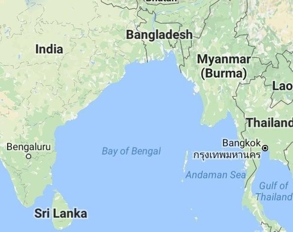 Is The Bay Of Bengal A Sea Or An Ocean Quora - Mahasagar name